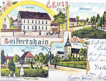 Seifertshain Postkarte