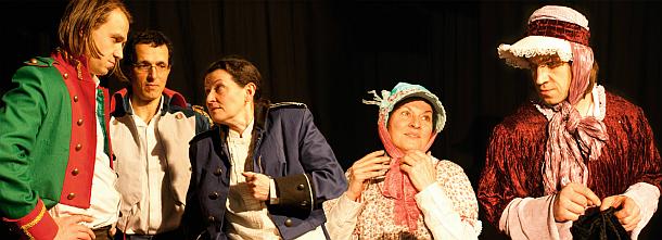 Theaterstuecks zur Voelkerschlacht - Ein einziges langes Donnergebruell
